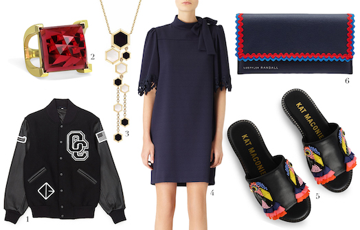 Women's fashion this Spring features bold embellishments, statement pieces and bright colours.